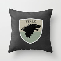 Game Of Thrones 01 Throw Pillow by Misery