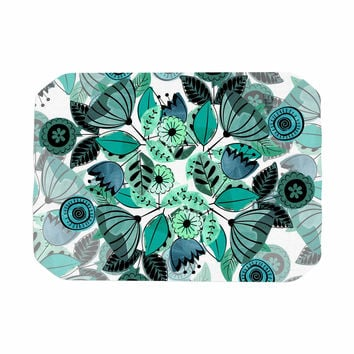 "Famenxt ""Mint Sognare"" Green Abstract Place Mat"