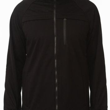 Commuter Weatherproof Hoodie in Black