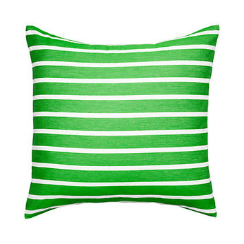 Kate Spade Harbour Stripe Euro Sham Picnic Green EURO