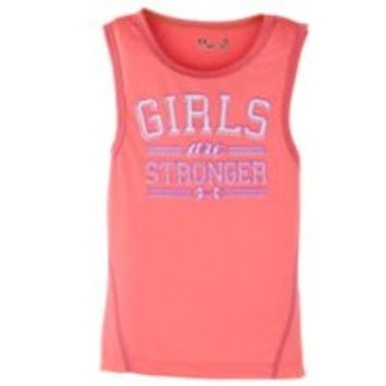 Under Armour Girls' Toddler UA Girls Are Stronger Tank