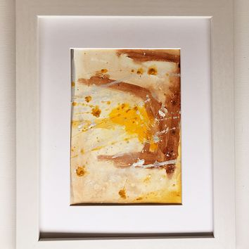 010 Original Abstract  Art on Paper. Free-shipping within USA.