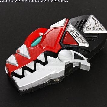 Original Movie Prop - Power Rangers Dino Thunder - Red Ranger Dino Morpher