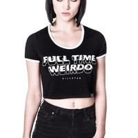 Full Time Scoop Neck Crop Top [B]