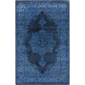Mykonos Wool Rug ~ Blue