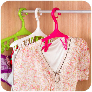 Multi-functioned Clip Clothing Socks Rack Hanger [6268660038]