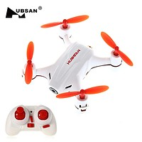 HUBSAN H002 RC Mini Drone with HD Camera 2.4GHz 4CH 6 Axis Gyro Quadcopter LED Light