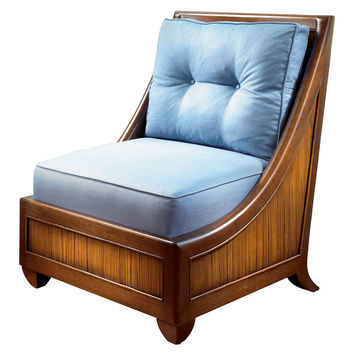 Mystique Tufted Lounge Chair, Lagoon, Accent & Occasional Chairs