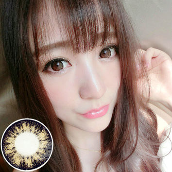 Circle lenses RT Rui pupil - Galaxy (Brown)