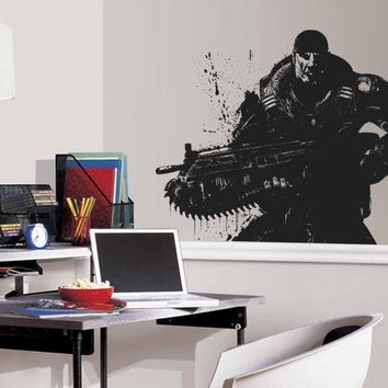 ik717 Wall Decal Sticker US Army soldier military shooter bedroom