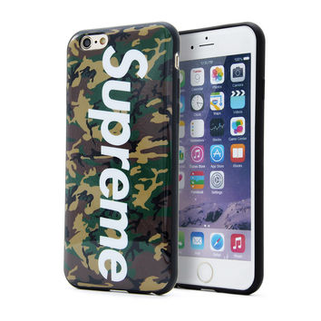Supreme Soft TPU Phone Cover Case For Apple iPhone 5 5s 6 6s 6 Plus/6s Plus