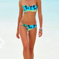 Seafolly Poolside Bikinis - Buy these retro turquoise Poolside Bikinis at Coco Bay with Next Day Delivery and Free UK Returns/Exchanges