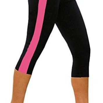 iLoveSIA Womens Activewear Athletic Capri 34 Workout Leggings