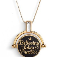Alex and Ani x Disney® 'A Wrinkle in Time' Believing Takes Practice Spinner Expandable Necklace   Nordstrom