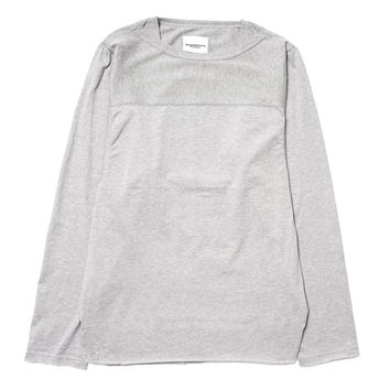 Strange Sleeves Football Tee Gray