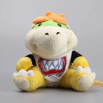 "Super Mario Koopa Bowser JR Cute Plush Toys Stuffed Dolls Kids Gift 7"" 18 cm"