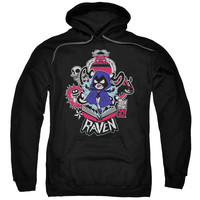 Raven Teen Titans Go! Mens/Youth Pullover Hoodie