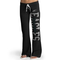 Philadelphia Eagles '47 Brand Womens Pep Rally Pants – Black
