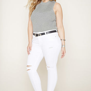 Best Distressed Jeans Plus Products on Wanelo