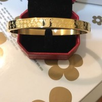 Brand New LV Women's Love Bangle Yellow Gold Plated Size 19 cm