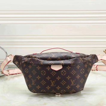 Louis Vuitton Women Leather Purse Waist Bag Single Shoulder Bag Crossbody