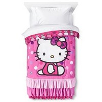 Hello Kitty Comforter - Multicolor (Twin)