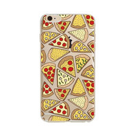 Pizza Pizza Slices Phone Case For iPhone 7 7Plus 6 6s Plus 5 5s SE