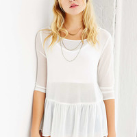 Kimchi Blue Adrienne Babydoll Top - Urban Outfitters