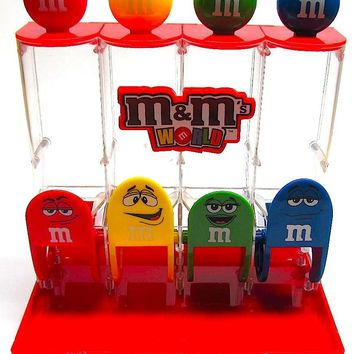 M&M's World Classic Candy Dispenser New