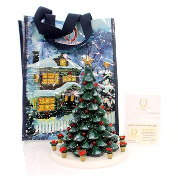 Department 56 House SNOW VILLAGE TOWN TREE KIT Christmas Holiday Yule 4059142