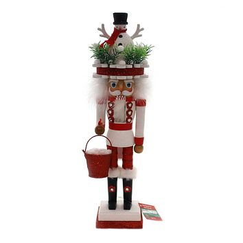Christmas HOLLYWOOD SNOWMAN TOYMAKER TREE HAT NUTCRACKER Whimsy Ha0412 Snowman