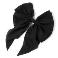 Oversized Chiffon Bow Hair Clip  | Icing
