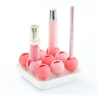 INFMETRY::  Flower Shaped Makeup Cosmetics Organizer - Home&Decor