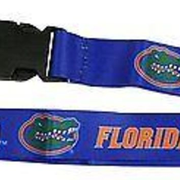 Florida Gators 2-sided Premium Breakaway Lanyard w/Keychain Hook University of