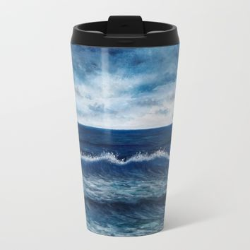Summer day Metal Travel Mug by Liisigordejev