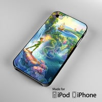 Take Me To Neverland, Peter Pan Quote A0932 iPhone 4 4S 5 5S 5C 6, iPod Touch 4 5 Cases