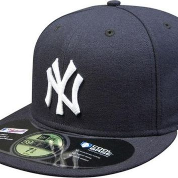 DCCKG8Q MLB New York Yankees New Era 59Fifty Onfield Fitted Hat