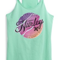 Girl's Hurley 'Logo Badge' Tank Top,