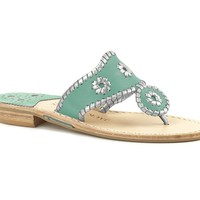 Sorority Colors - Turquoise & Matte Silver - Sorority Colors  - Jack Rogers USA
