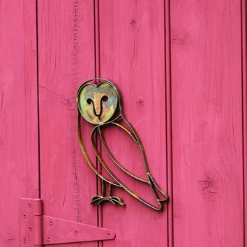 Barn Owl Wall Decor