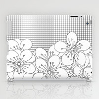 Cherry Blossom Grid - In Memory of Mackenzie iPad Case by Project M