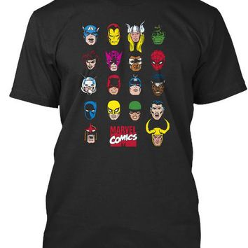 Panther All Hero Marvel Comics Tee