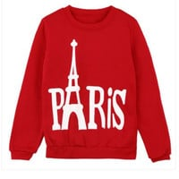 PARIS Graphic Printed Sweatshirt