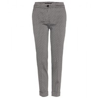 etro - cropped jacquard trousers