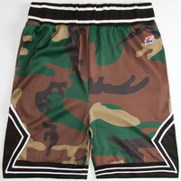 Hall Of Fame Jumpoff Mens Shorts Camo  In Sizes