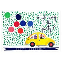 Balloons For The Bug Birthday Card