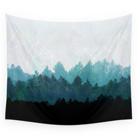 Society6 Woods Abstract Wall Tapestry