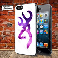 Love Browning Deer Camo Boy 2 Case For iPhone 5, 5S, 5C, 4, 4S and Samsung Galaxy S3, S4