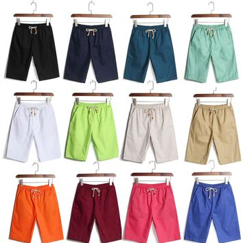 Outdoor Sports Plain Men Boy Board Surf Swimming Swim Beach Shorts Trunks Pants Holiday sport leisure