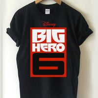 BIG HERO 6 logo T-shirt Men, Women, Youth and Toddler